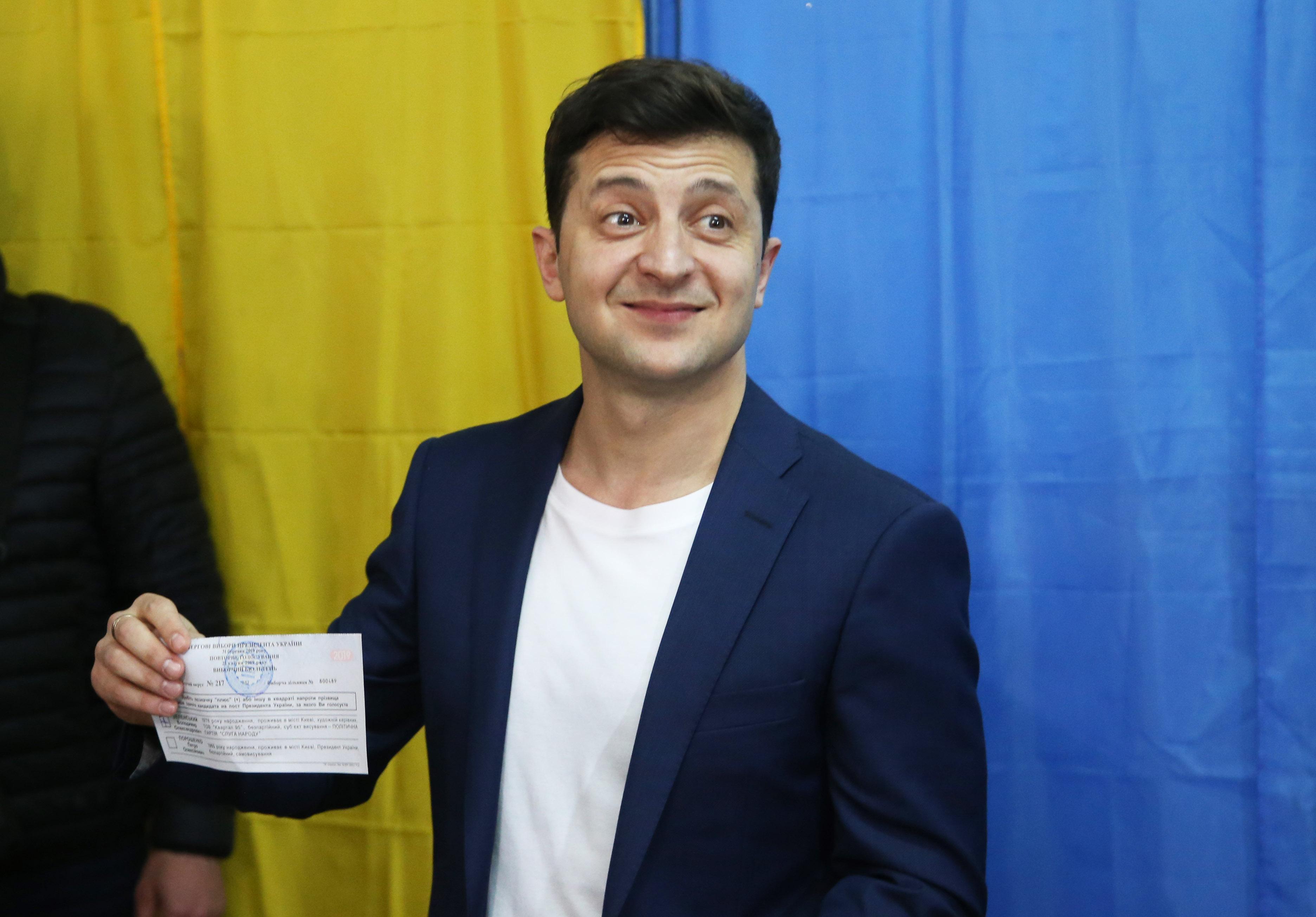 (国际)(9)乌克兰总统选举开始第二轮投-FZ00032551351.JPG